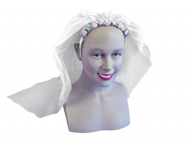 Wedding Veil Fancy Dress Up Kit Hen Party Night Disguise Gift Bridesmaid party